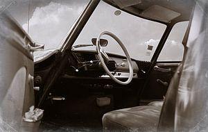 Citroën ID 19 Retro bruin van Wim Schuurmans