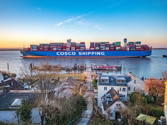 2018-02-23 Containerschiff COSCO Aria