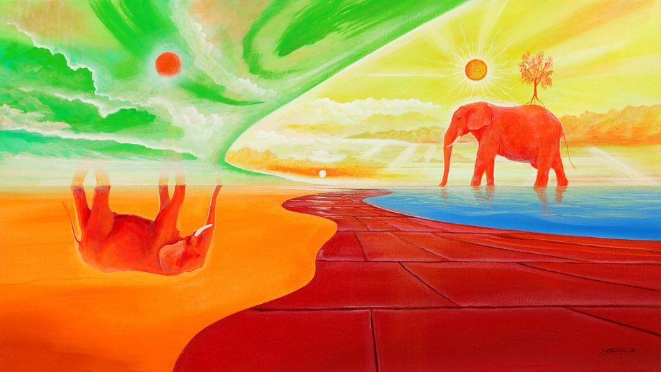 Am Elefantensee van Silvian Sternhagel