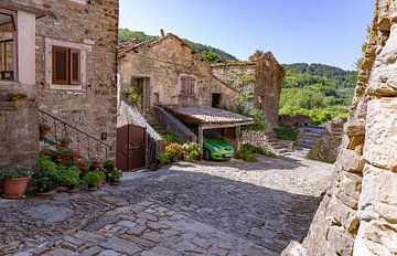 Altes Dorf in Kroatien II von Jeroen de Weerd