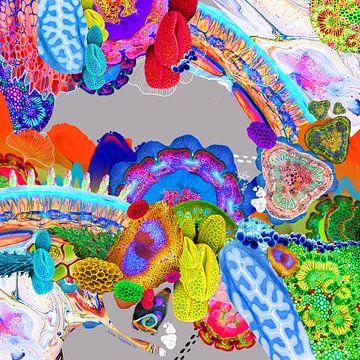 kleurrijke droomwereld van Nicole Roozendaal