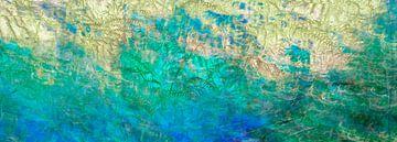 Abstract van kleuren van Corinne Welp