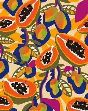Mango Papaya., Megan Gallagher von Wild Apple
