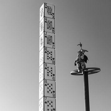 """L'emblème de la ville """"La Tour des cartes"""", Groningue sur Henk Meijer Photography"""