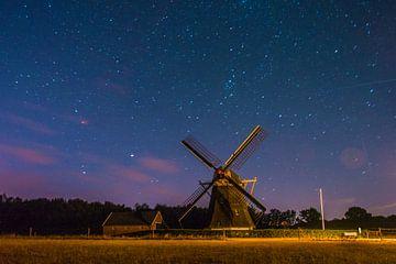 Ciel étoilé sur Pia Van Hemmen