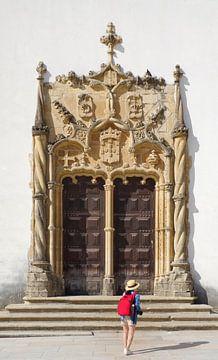 Coimbra: Portal im Innenhof der Universität von Berthold Werner