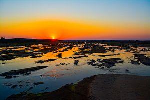 Sunrise over the Olifants river in the Kruger park von Tim Sawyer