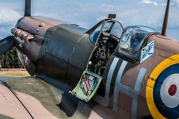 Supermarine Spitfire van Photobywim Willem Woudenberg