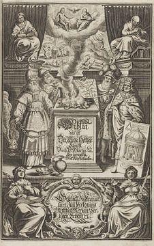 Lutherische Bibel, BIBLIA GERMANICA, 1704 von Atelier Liesjes