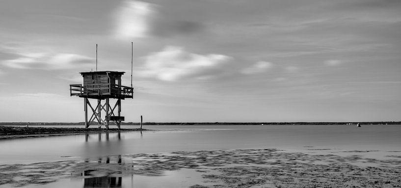 Scharendijke duikplaats met hut van Rob van der Teen