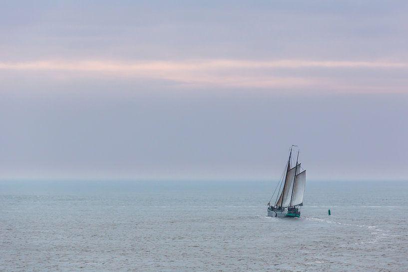 Zeilen op de Waddenzee van Jurjen Veerman