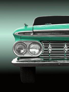 Voiture classique américaine el camino 1959 sur Beate Gube