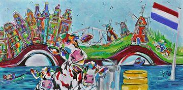 Typisch niederländisch von Kunstenares Mir Mirthe Kolkman van der Klip