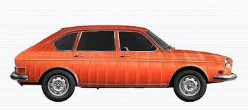 VW 411 Art Car