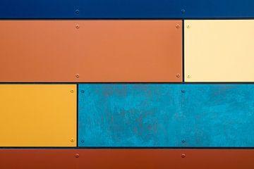 Colorful house wall van Rico Ködder