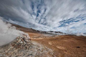 Geotermisch landschap van Ruud van der Lubben