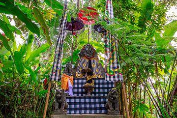 Ganesha buiten in de tuin op Bali van Jeroen Langeveld, MrLangeveldPhoto