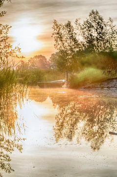 dromen op het water von Sylvain  Poel