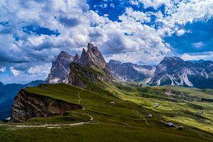 Dolomieten, Italië van Helga van de Kar