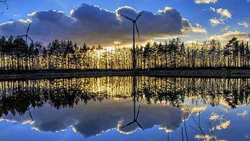 zonsondergang von Henk bohmers
