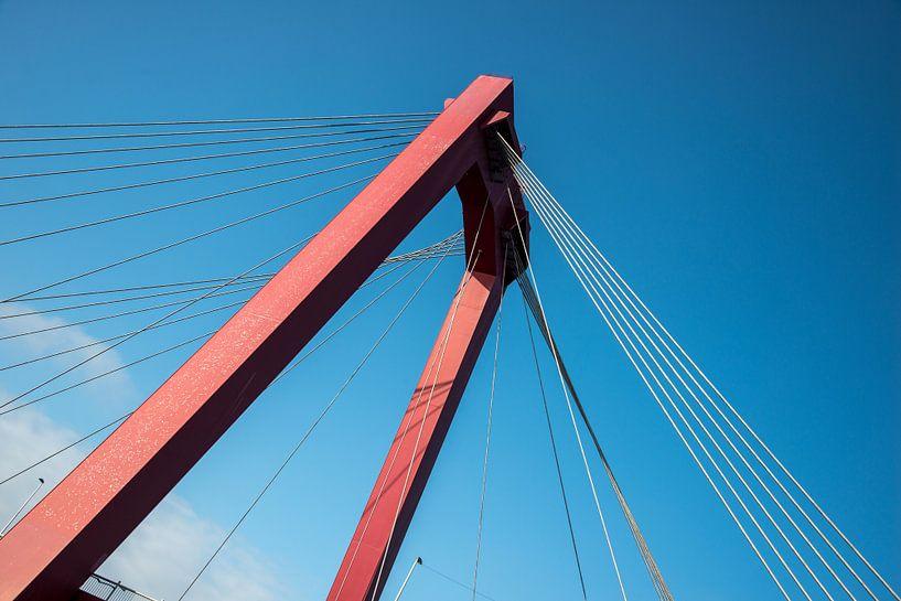 Willemsbrug Rotterdam van Mark De Rooij