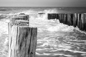 Woeste zee Domburg, Zeeland van Erik Wouters