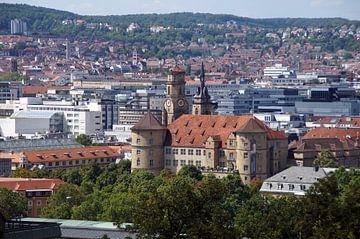 Altes Schloss - Stuttgart Panorama sur