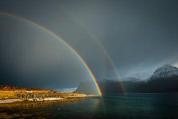 Doppelter Regenbogen von Judith Noorlandt
