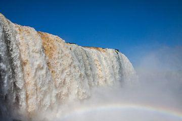 Watervallen van de Iguaçu in Brazillië van Armin Palavra