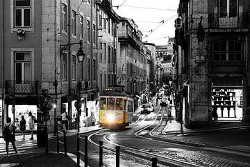 Die Straßenbahn in Lissabon von Marcel Bil