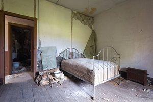 Verlassenes Schlafzimmer.