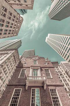 BOSTON Old State House | urban vintage style van Melanie Viola