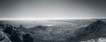 Kaapstad vanaf de Tafelberg van