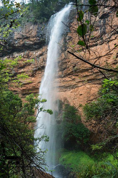 bridel veil fall waterfall near sabie in south africa van Compuinfoto .
