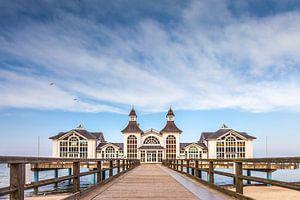 Pier van Sellin op het eiland Rügen, Oostzee