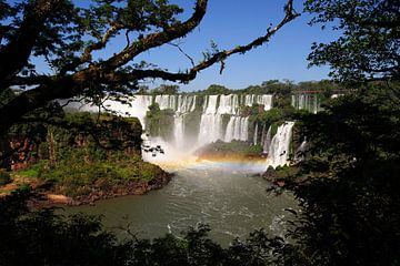 Wasserfälle in Iguaçu von