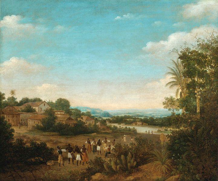 Riverside Village, Frans Post von Meesterlijcke Meesters