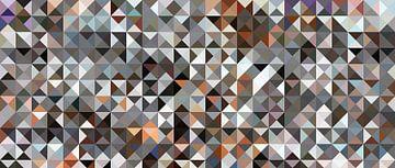 Triangles avec du gris