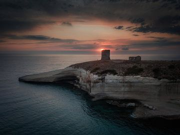 Sardijnse Kust, S' Archittu bij zonsondergang van Mario Calma
