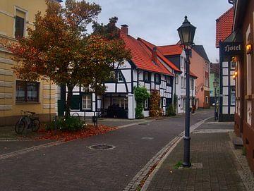 Oud dorp 1 van Edgar Schermaul