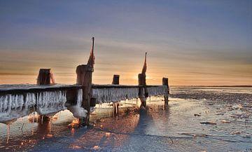 Steiger onder winterse omstandigheden van John Leeninga