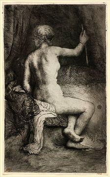Rembrandt van Rijn, Frau mit dem Pfeil