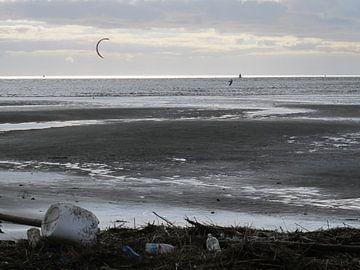 Strand en Zee van Taco Ruiten