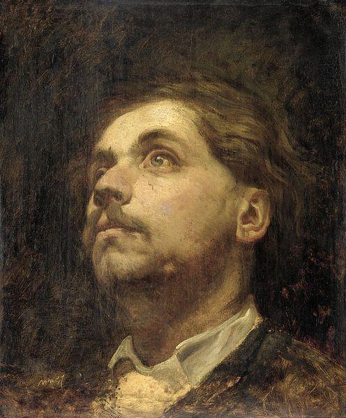 Porträt von Jacob Maris, Matthijs Maris von Meesterlijcke Meesters