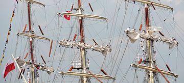 Sail Amsterdam 2015 van Jeannette Kliebisch