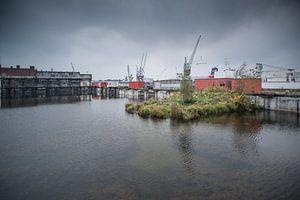 Radiostraat,havengebied Rotterdam