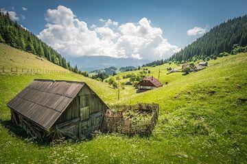 Landschap Roemenie van