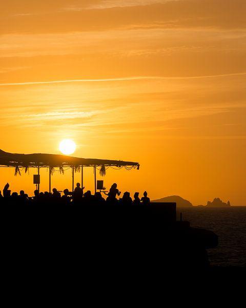 Sunset Ashram 2 van Desh amer