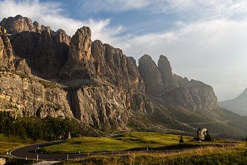 Passo Gardena Italië van Remko Bochem