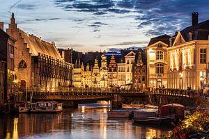 Historische binnenstad Gent van Jeroen Kleiberg